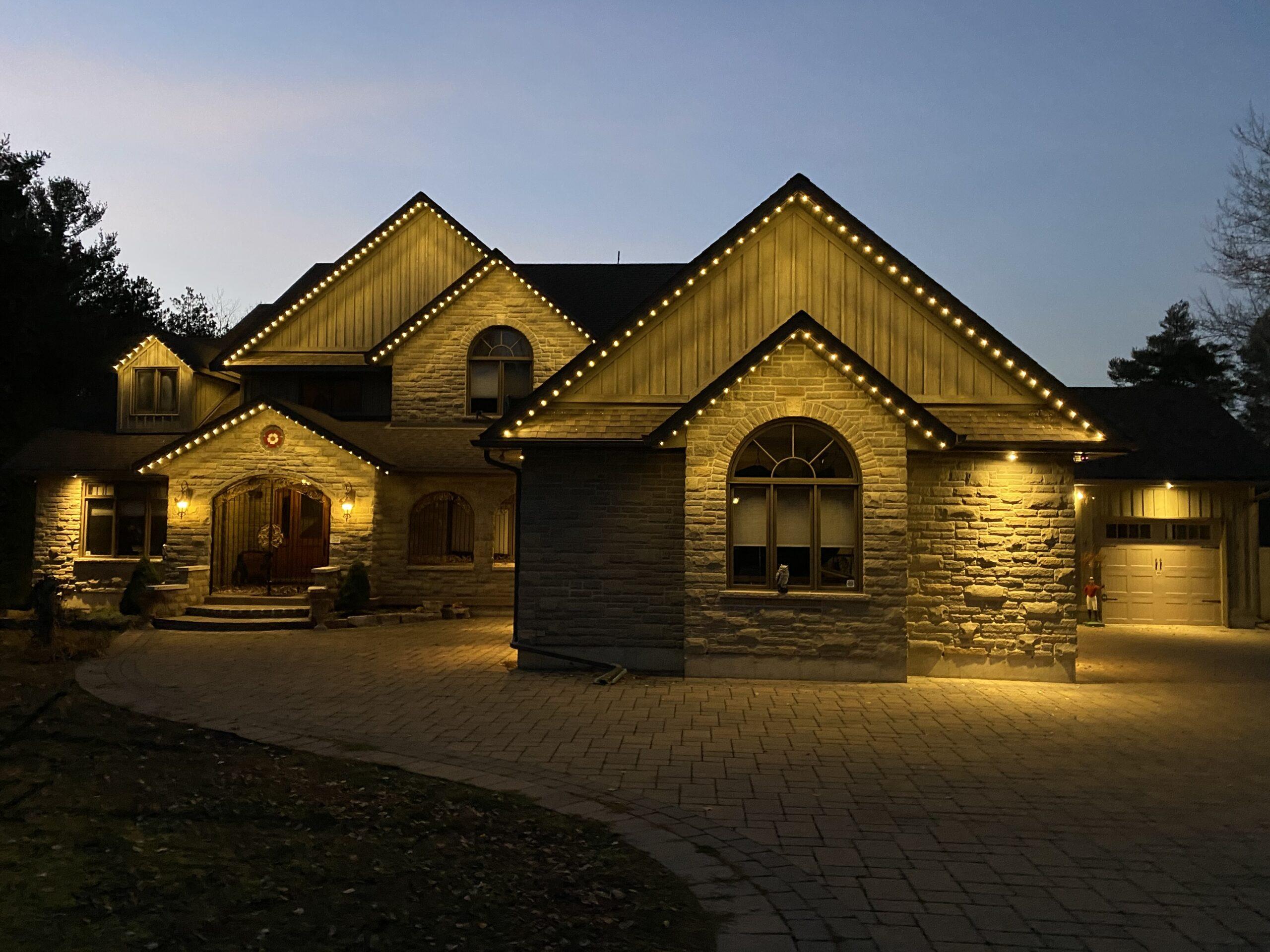 Gemstone Lights - Brookdale Rd Uxbridge